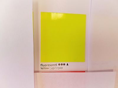 1 Lb Powder Coat Coating Fluorescent Yellow