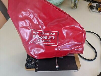 Kingsley Stamping Machine With Many Extras