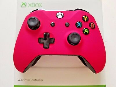 Xbox One S Wireless Microsoft PINK Controller.... Variety NEW with Bluetooth