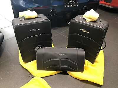 Ferrari Luggage Set New 488 Spider OEM 3 Piece Set