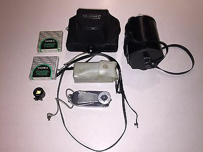 [As Is] Yashica Electro 35 GSN 35mm Rangefinder Camera Japan w/ Extras