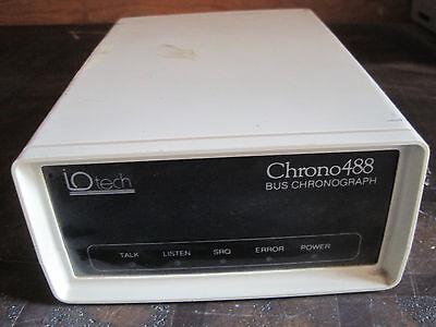 Iotech Chrono 488 Bus Chronograph Lot Q383