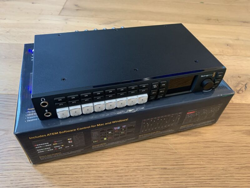 New Open Box Blackmagic Design Design ATEM Television Studio HD