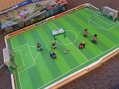 PLAYMOBIL Football Stadium Game Set 4700 Minimal Spares Required Boxed 2004