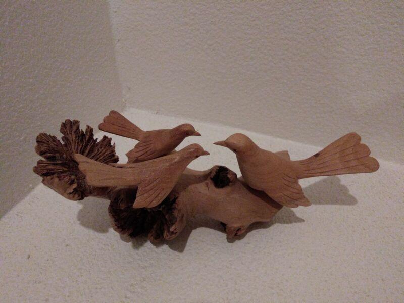 Birds Wood Carving, Bird Figurine