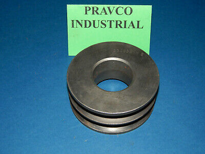 A34b38sh Pulley Sheave Double Groove 4-18 4.125 Outside Diameter