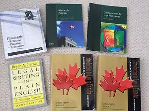 Paralegal Course Books For Sale