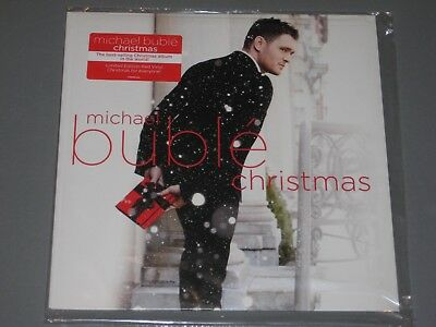 Michael Buble   Limited Edition Red Vinyl   Christmas Lp New Sealed Vinyl