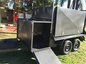 FULLY ENCLOSED 8X5 WITH COMPRESSOR BOX 12 MONTHS PRIV REGO $5600 The Hills District Preview