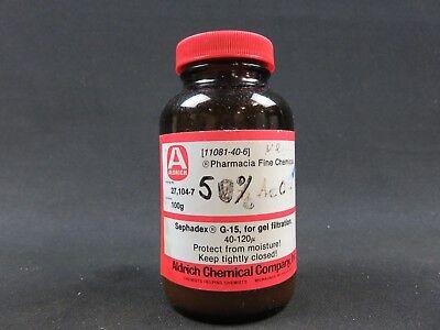 Sephadex G-15 50 Grams Pharmacia Fine Chemicals