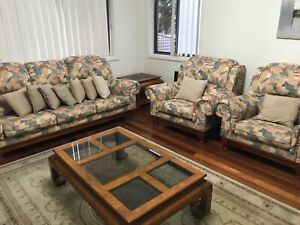 Floral couch set