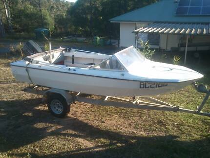 Volero Missile 16ft Runabout with Evinrude 70HP 1996 Cedar Vale Logan Area Preview