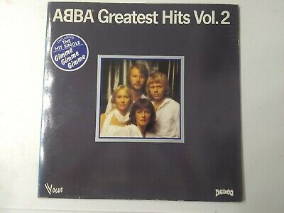 ABBA-Greatest Hits Vol.2 Vinyl LP 1979 French Copy