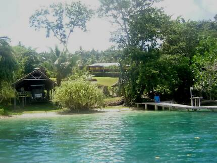 Vanuatu Tropical Waterfront Property - Price slashed to sell