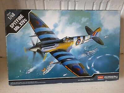 Spitfire Mk.XIVc 1/48 Scale Academy Hobby Model Kits Model No.12274