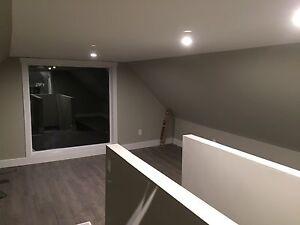 Professional living in 1600 sq' two story apt.