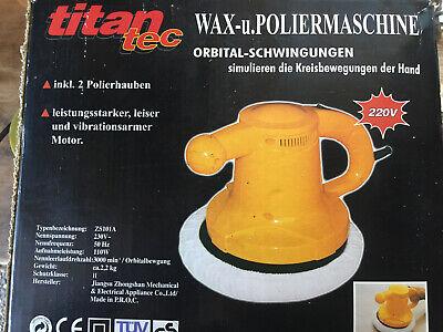 Titan Wax und Poliermaschine
