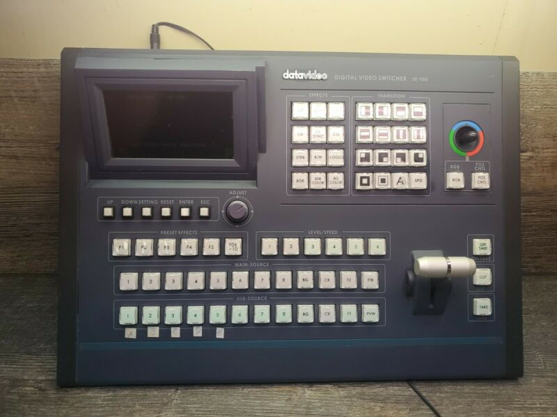 DATAVIDEO SE-900 Digital Video Switcher Panel with power adapter