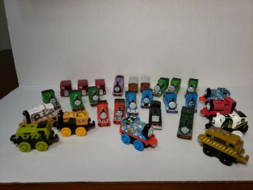 Thomas The Tank Engine Friends Micro Minis Lot Of 28 Trains - $20.00