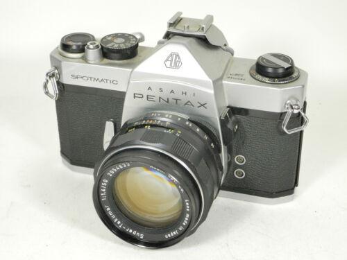 Pentax Spotmatic 35mm SLR Camera w/ Super Takumar 50mm f1.4 Lens