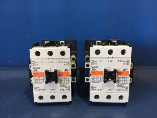 2 FUJI ELECTRIC SC-N3/G [65] CONTACTORS