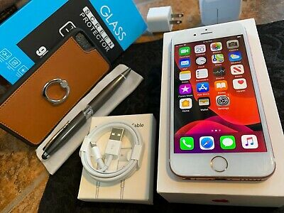 Apple iPhone 6s (32gb) Globally Unlocked (A1633) Rose Gold/ MiNT ExTRAs * iOS13 Dual Band Quad Band