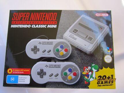 BRAND NEW - Nintendo Super NES Classic Mini