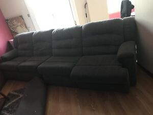 FREE Sofa bed with recliner and massage unit