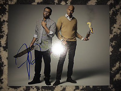Jordan Peele Signed 8X10 Photo Key And Peele Keanu Coa