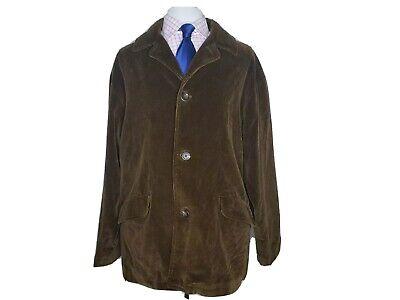 Polo Ralph Lauren Mens XL Brown Corduroy Lined Field Jacket