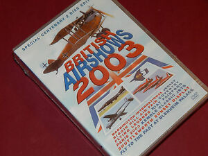 BRITISH-AIRSHOWS-2003-2004-2005-4-Disc-DVD-NEW