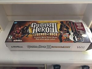 CIB partially sealed guitar hero 3 target exclusive bundle