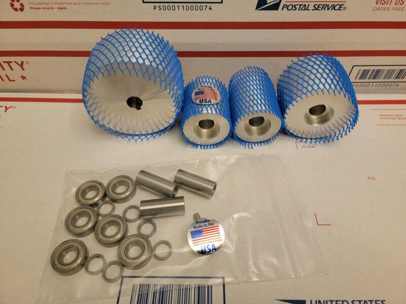 2x72 belt grinder wheels **CNC PRECISION TURNED**