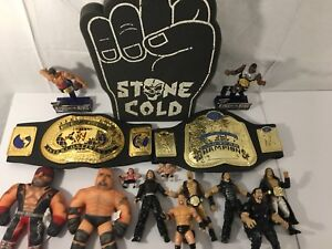 Huge WWE Wrestling Lot 150+ Figures, Rings, Accessories and More
