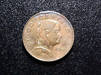 1968 CINCO CENTAVOS ESTADOS UNIDOS MEXICANOS   PP132XSC2