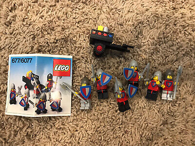 Lego Classic Castle Set 677-1 Knight's Procession 100% comp. Vintage w/ manual