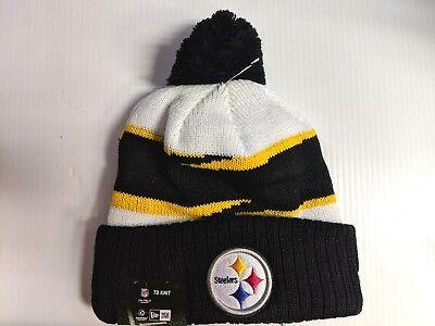 Pittsburgh Steelers New Era Knit Hat On Field 2018 Thanksgiving Beanie Cap