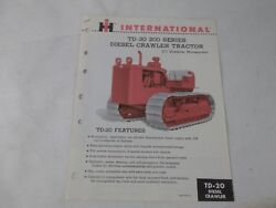 International Harvester Td 20 Farm Tractor | International Harvester