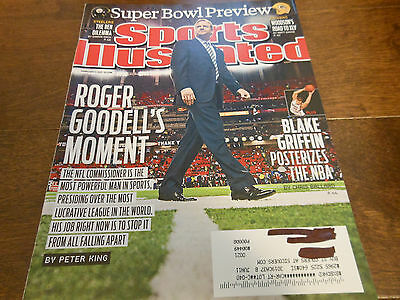 Roger Goodells Moment Sports Illustrated February 7  2011