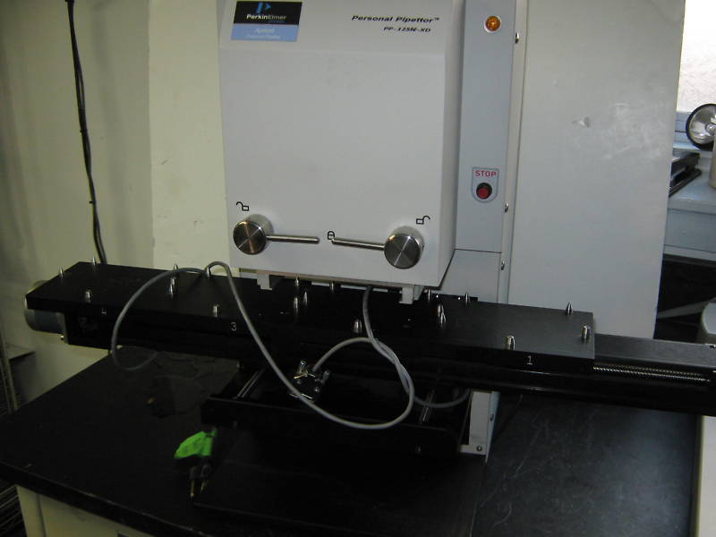 PERKIN ELMER APRICOT PERSONAL PIPETTOR PP-125N-XD