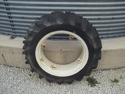 1 Farmall A Sa Super A B Bn Rim 9.5 X 24 Safe Mark Tractor Tire 75 Tread