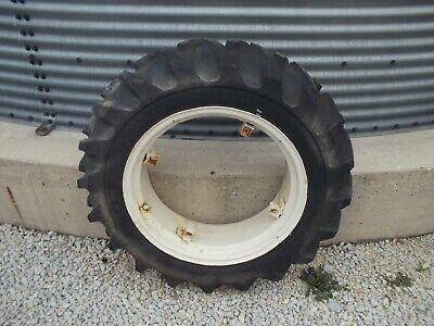 1 Farmall A Sa Super A B Bn Rim 9.5 X 24 Safe Mark Tractor Tire 75 Tread