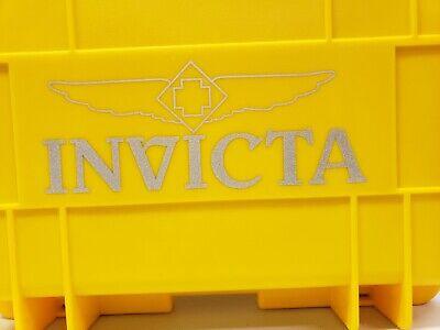 New INVICTA Original Yellow 8 Slot Dive Impact Case