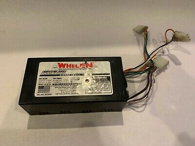 Whelen Cs240 Strobe Light Power Supply - Good Working Condition -