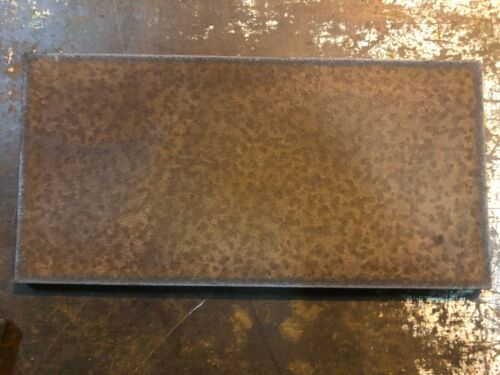 """5/16"""" Steel Sheet Plate 12"""" x 24""""  rusted 2 pieces set"""