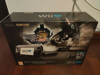 Consola Wii U Premium Pack Monster Hunter Limited Edition