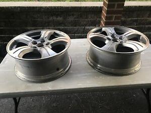 Set of two rims from 2014 Honda Pilot