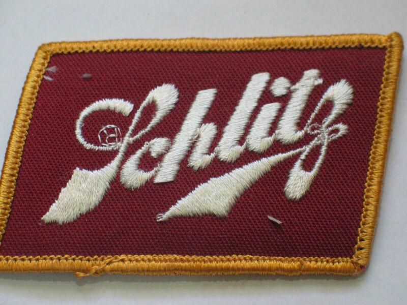Schlitz Beer Patch