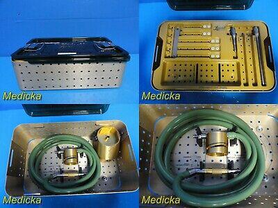 Medtronic Midas Rex Legend V03 Gold Pneumatic Handpiecebonemilltrayaccs20993