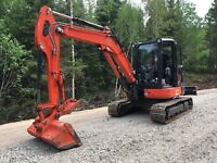 Mini-excavation Kx-057